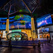 Colourful lightings at ION Orchard