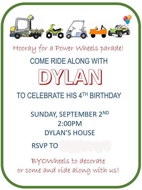 Dylan bday