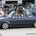 Blue VW Golf Mk1 Cabriolet