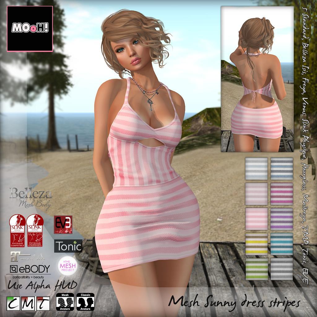 Sunny dress stripes - TeleportHub.com Live!