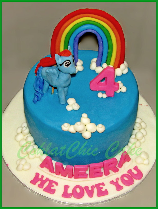 Cake My little Pony AMEERA 15 cm
