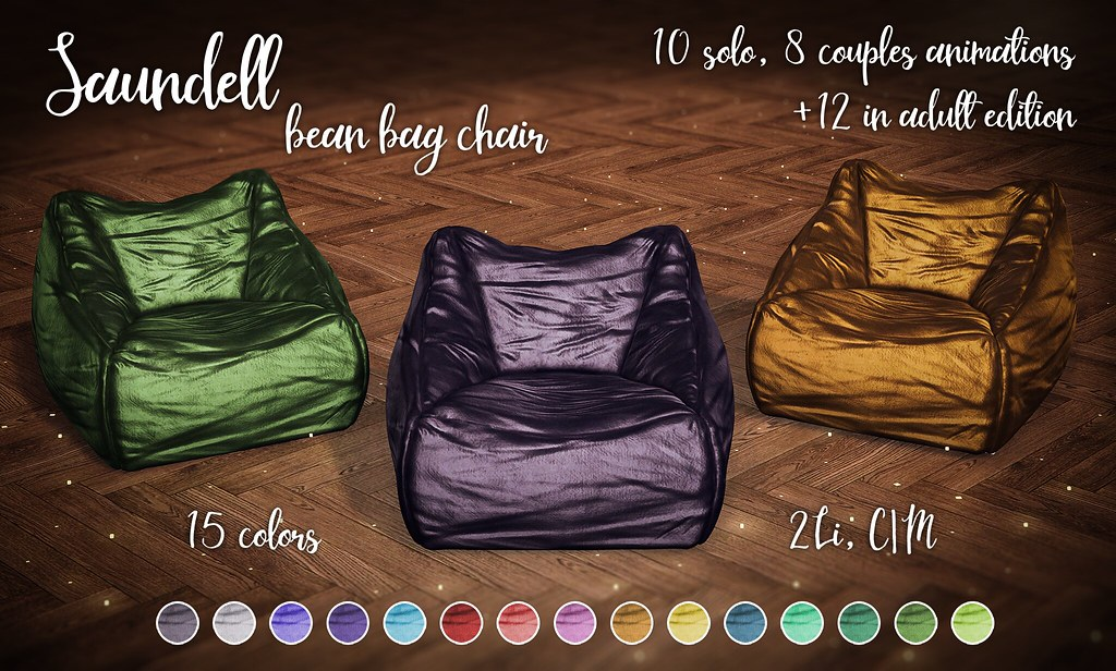Saundell bean bag chair