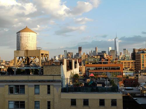 Whitney Museum Roof, New York City