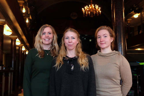 Kajza Wiborn, Linda Johansson och Elsa Näslund