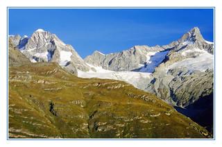 The Swiss Penine Alps From the Gornergrat - 1994