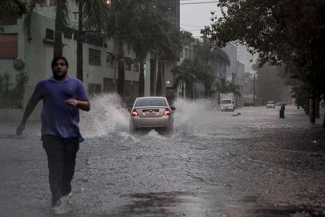 De R$ 824 milhões destinados à realização de drenagens, só 38% foram investidos - Créditos: Marcelo Camargo / Agência Brasil