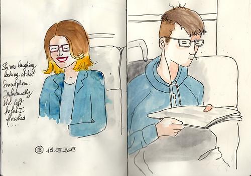 RER B- Paris -bicolour and laugh