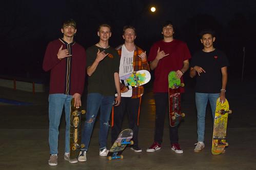The night skate group