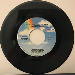 NEW EDITION:CAN YOU STAND THE RAIN(RECORD SIDE-B)