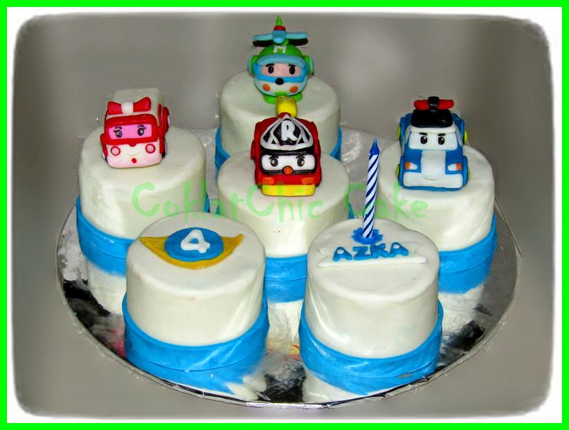 Minicake Robocar AZKA