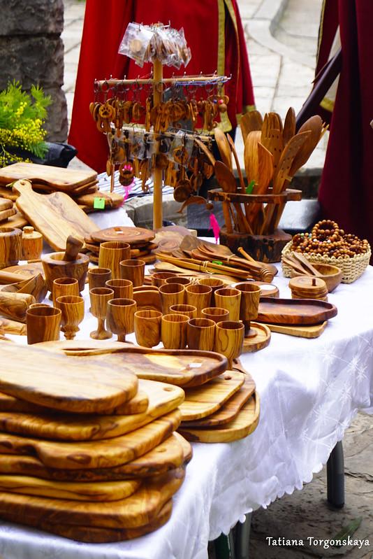 Изделия из древесины маслины