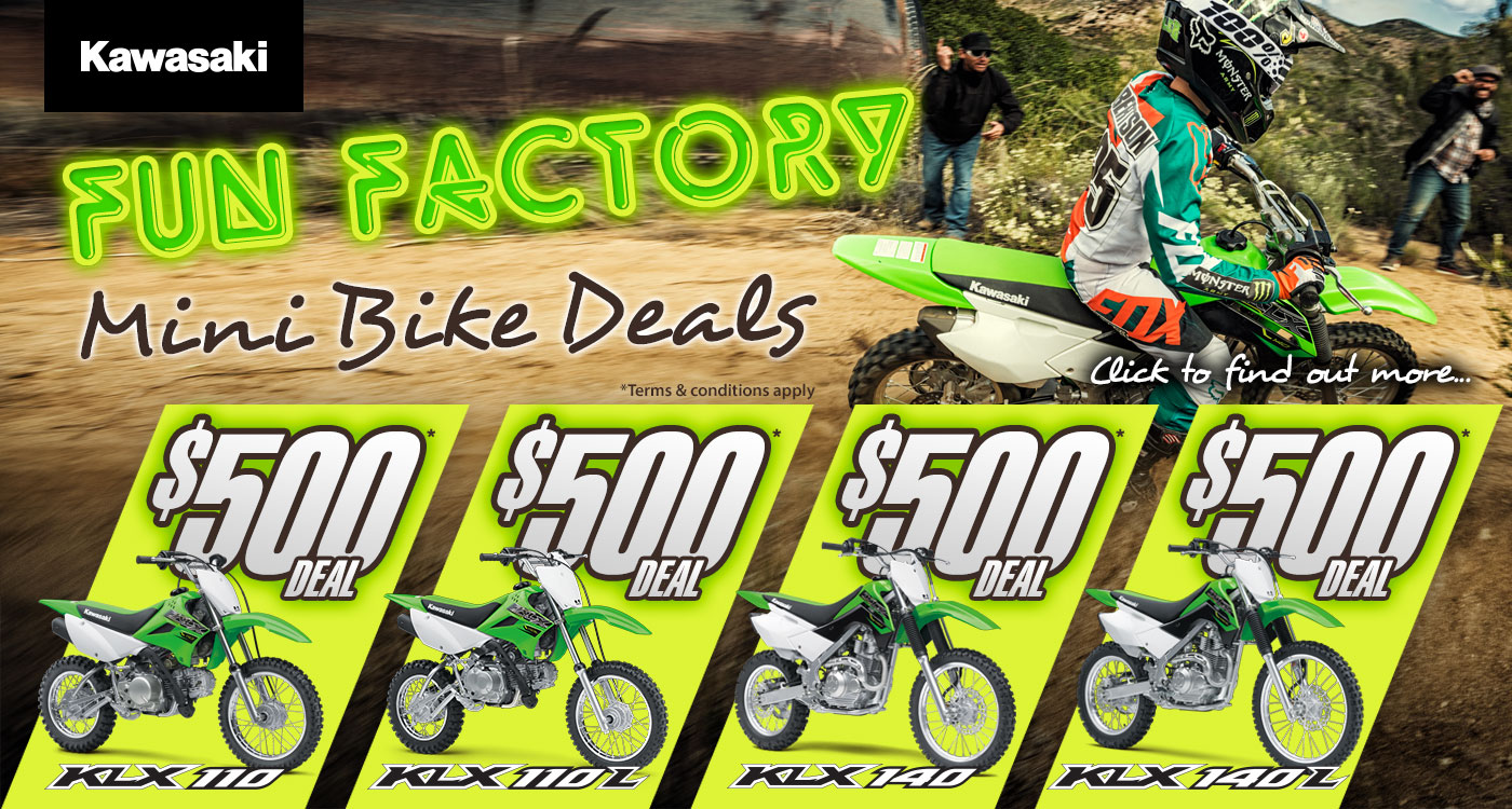 Fun Factory Mini Bike Deal
