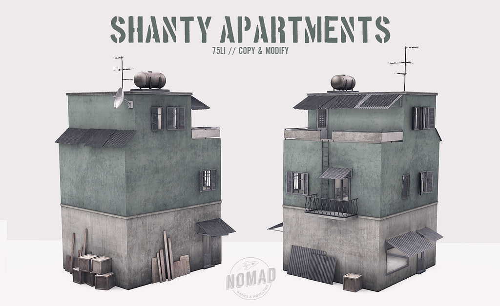 NOMAD // Shanty Apartments @ ECLIPSE