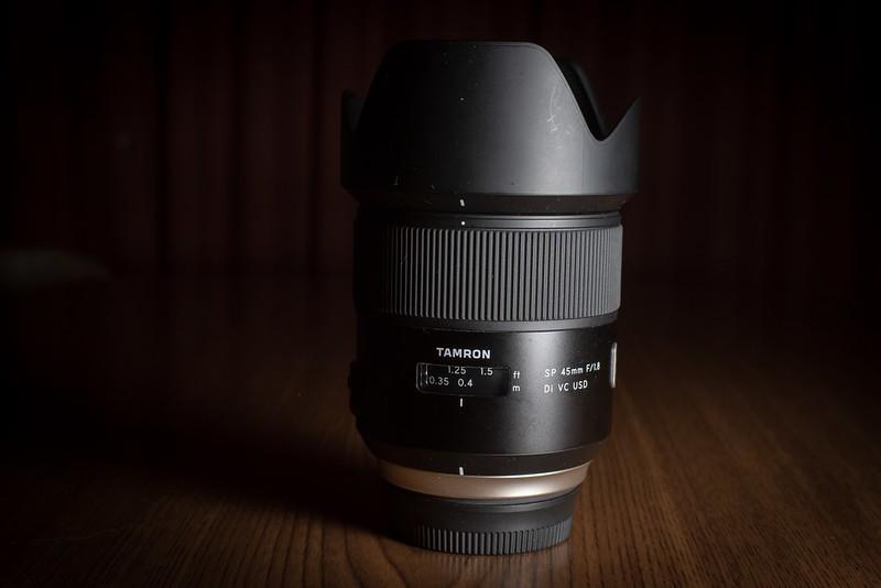 Tamron sp 45mm F1.8 Di VC USD