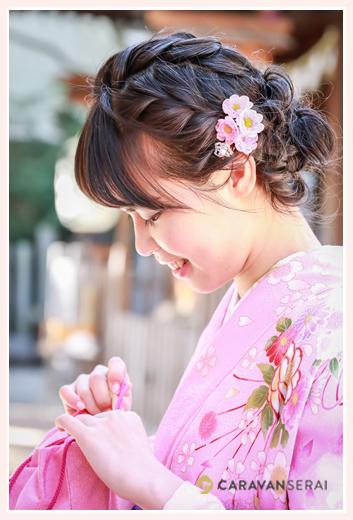 大学卒業記念 袴・着物を着た女性のヘアスタイル(アレンジ)