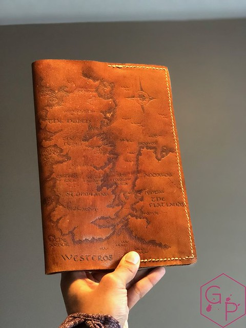 Toronto Pen Company Traveler's Notebook Leather Covers with Pyrography & Paintings 38