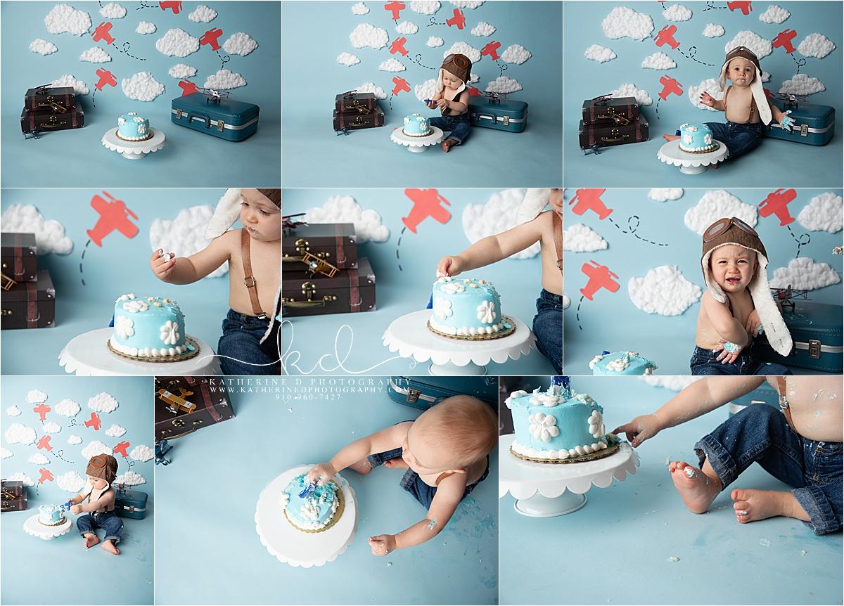 Fayetteville NC Cake Smash