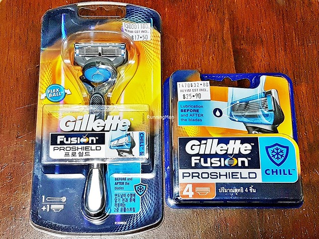 Gillette Fusion 5 ProShield Chill Razor & Cartridge Refills