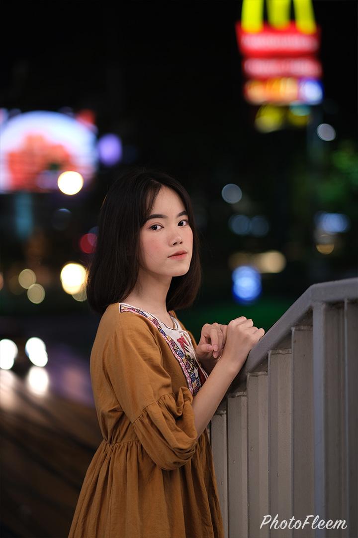 รีวิวภาพถ่ายกลางคืน Fujifilm X-T30