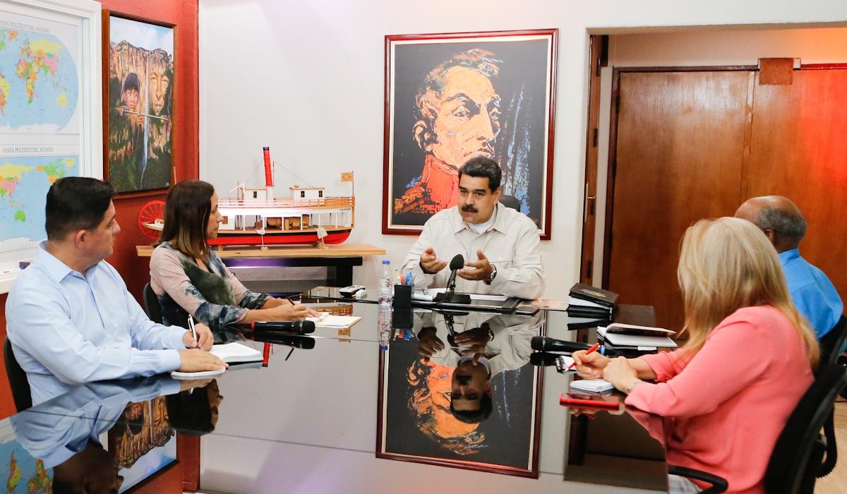 Presidente Nicolás Maduro designa nuevo ministro de Energía Eléctrica y presidente de Corpoelec