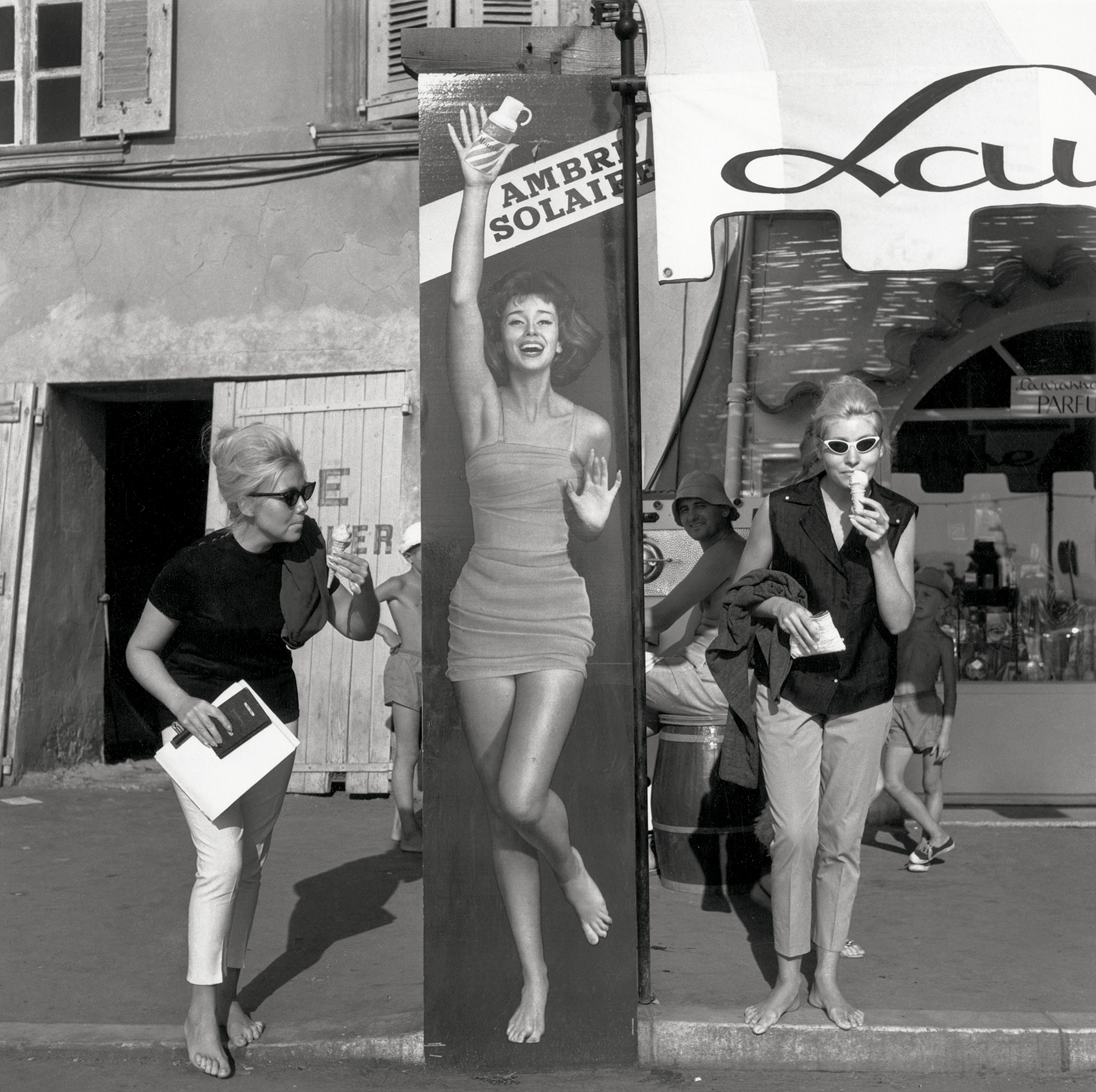1959. Ла-Боль-Эскублак, август