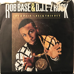 ROB BASE & DJ E-Z ROCK:JOY AND PAIN(JACKET A)