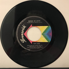 CHI LITES:OH GIRL(RECORD SIDE-B)