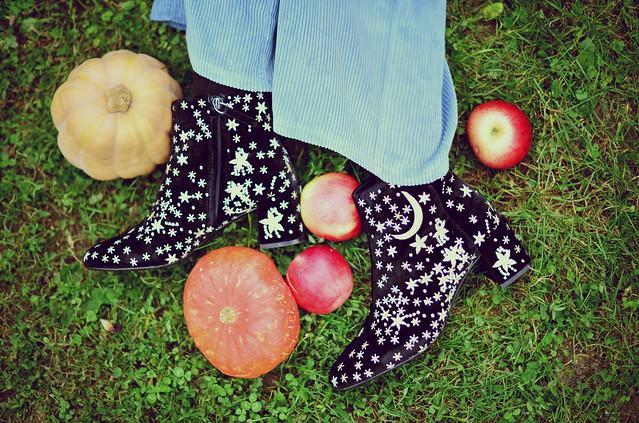 Mango Stellar Boots