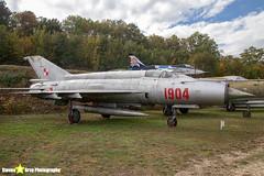 1904---961904---Polish-Air-Force---Mikoyan-Gurevich-MiG-21M---Savigny-les-Beaune---181011---Steven-Gray---IMG_5642-watermarked