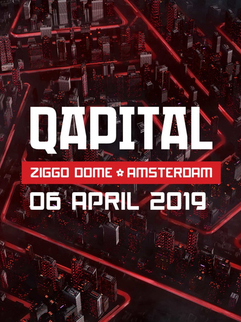 cyberfactory 2018 qapital q-dance ziggo dome amsterdam nederland