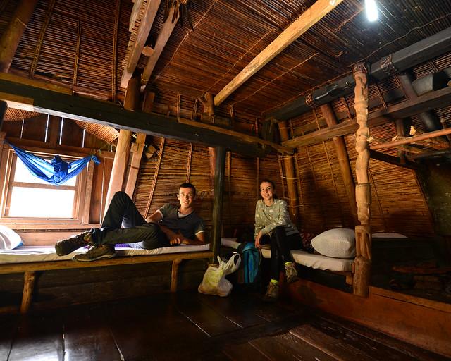 Transient House, el ifugao donde dormir en Batad de manera tradicional