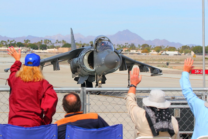 IMG_5911 AV-8B Harrier II, MCAS Yuma Air Show