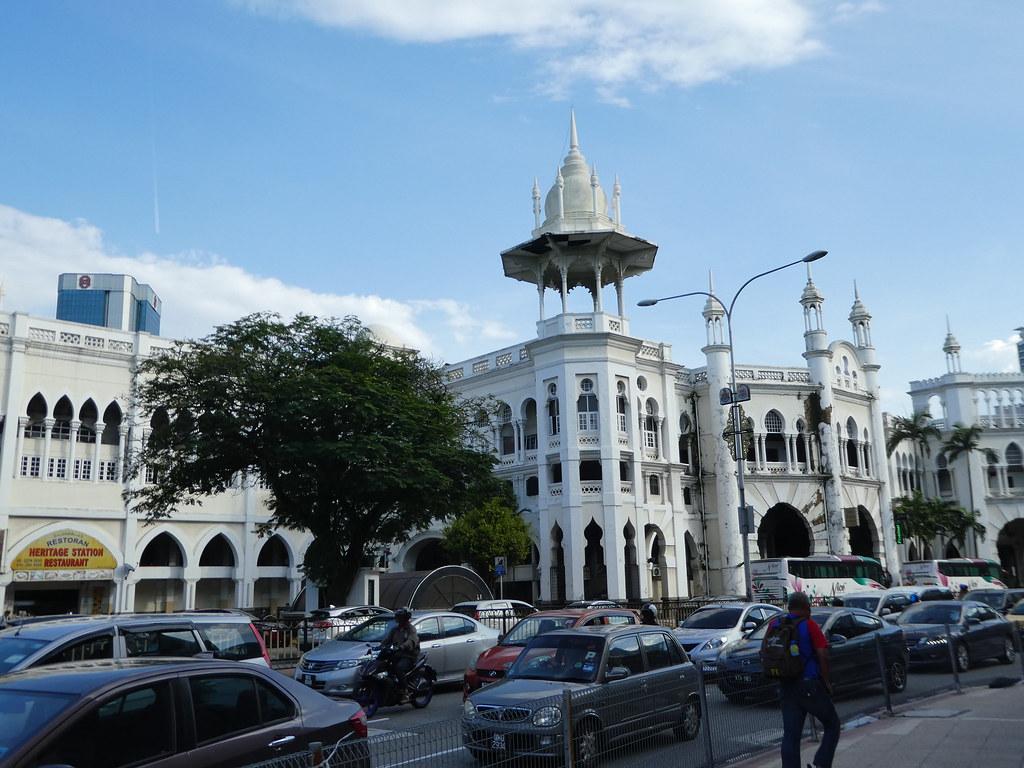 Old Kuala Lumpur Railway Station still in use today