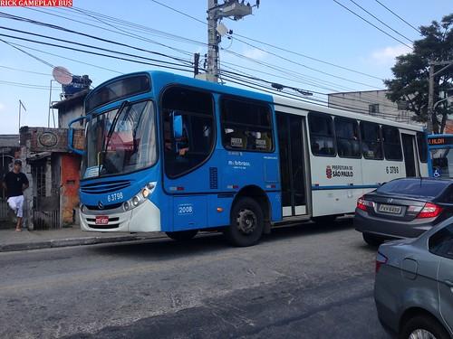 Caio Apache Vip II Mercedes-Benz OF-1722M Mobibrasil (6 3798) Ex Tupi Transporte (6 2137)