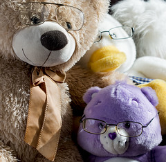 Teddy Family glasses