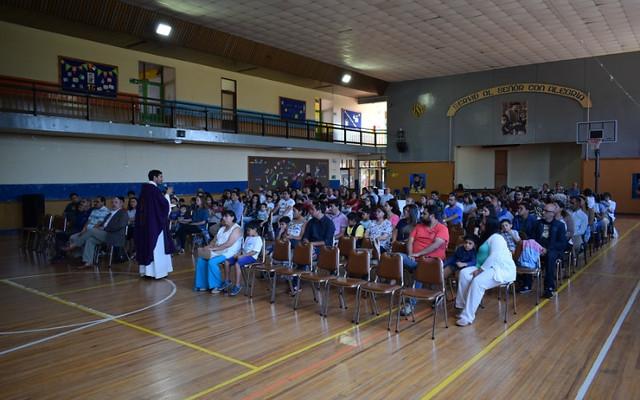 Eucaristía Bienvenida estudiantes nuevos 2019