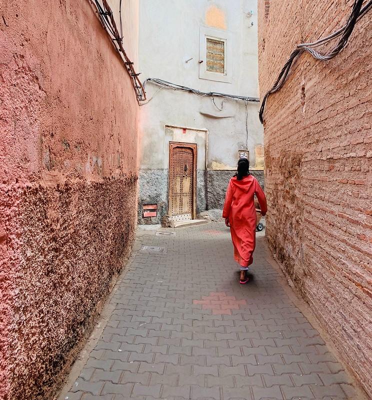 Vicoli nella medina di Marrakech