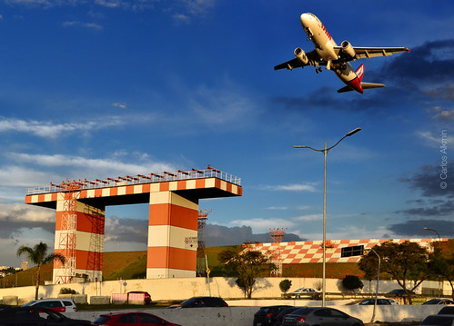 Congonhas Airport at afternoon - Sao Paulo, Brazil