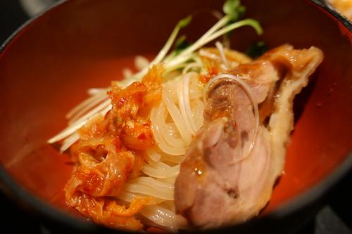 地鶏冷麺 05