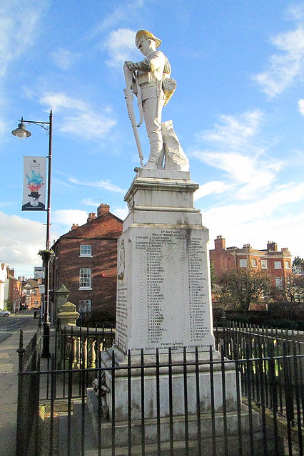 Shrewsbury Boer War Memorial from East