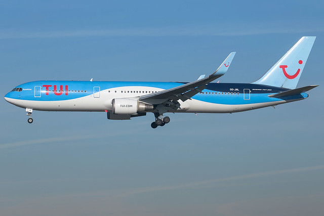 TUI Airlines B767-304 ER, Canon EOS 6D, Canon EF 100-400mm f/4.5-5.6L IS II USM