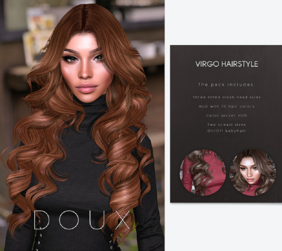 Doux – Virgo Hairstyle