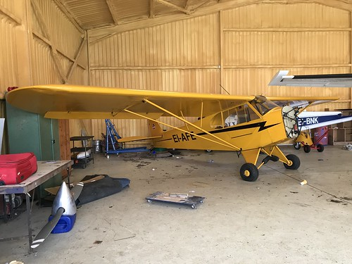 EI-AFE, Piper J-3 Cub  C-65 Cub (16687), Clonbullogue 24th March 2019