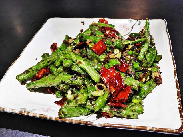 String Beans With Minced Pork And Dried Chili