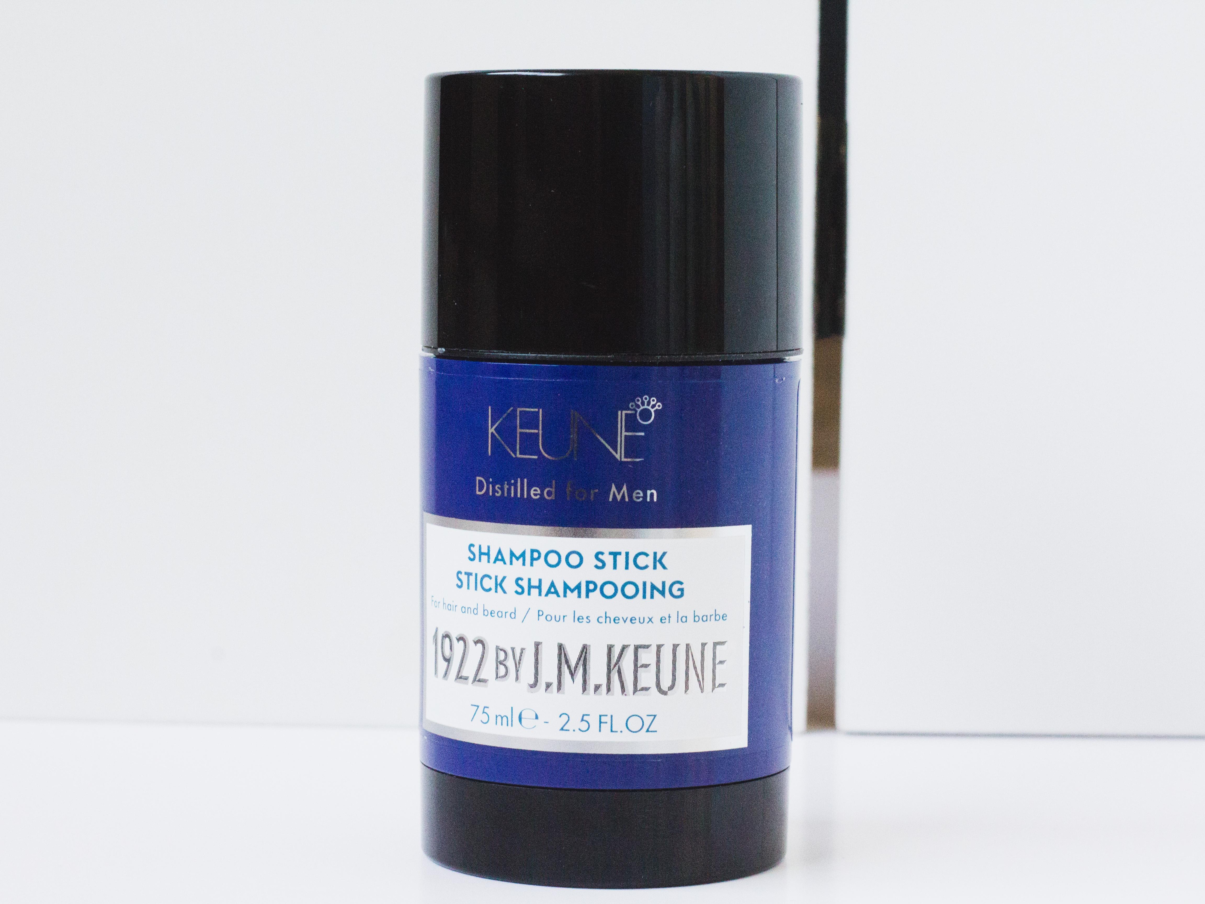Mijn lief test de Shampoo Stick van Keune uit