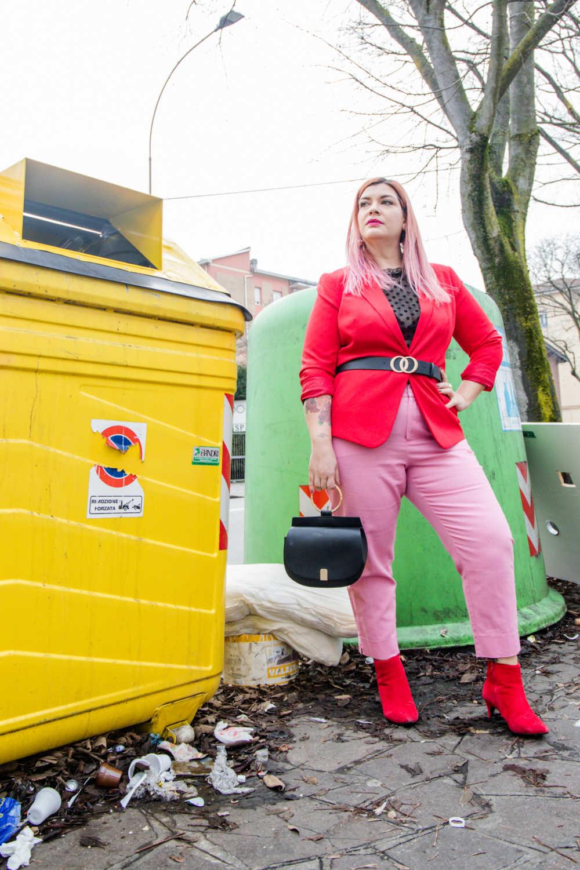 Outfit curvy e plus size, rosso e rosa per San Valentino (5)