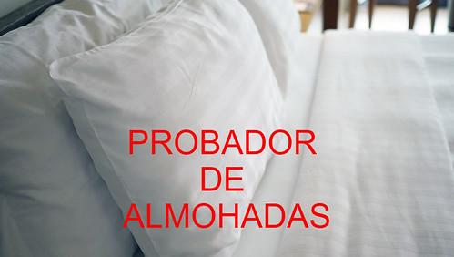 probador almohadas