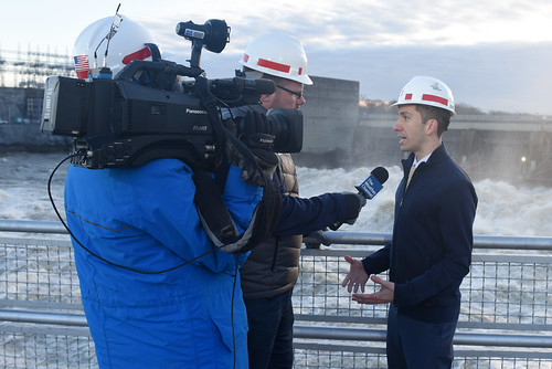 Weather Channel goes live at Old Hickory Dam