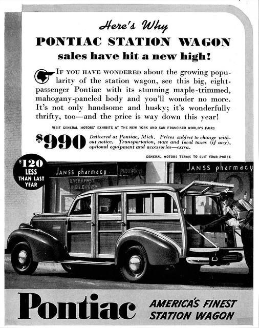 1939 Pontiac Station Wagon