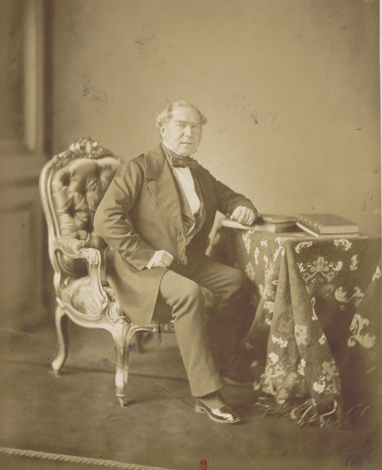 02. Барон Франсуа-Адольф де Буркенэ, второй уполномоченный Франции на Парижском конгрессе, посол Франции в Вене